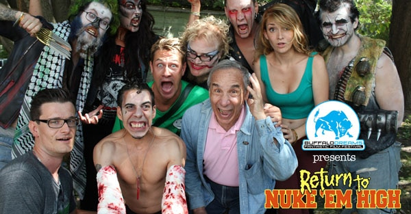 nukem 1 - Lloyd Kaufman and the Stars of Return to Nuke 'Em High: Vol. 1 Talk Troma, Ducks and Giant Members