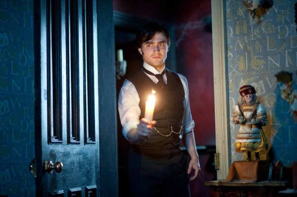 Daniel Radcliffe Goes Gate Crashing in Latest Still from The Woman in Black (click for larger image)