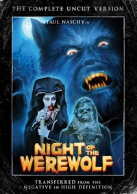 Night of the Werewolf DVD (click for larger image)