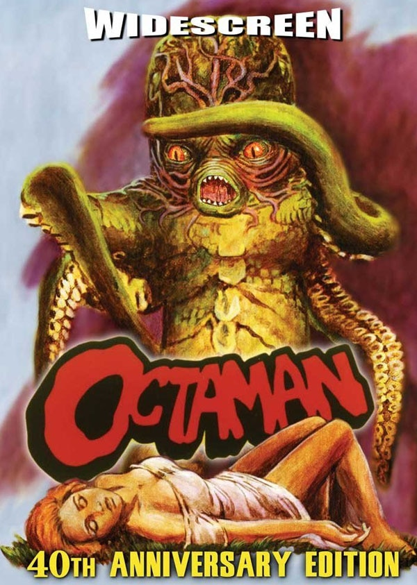 Octaman Wraps Arms Around an Official DVD Release