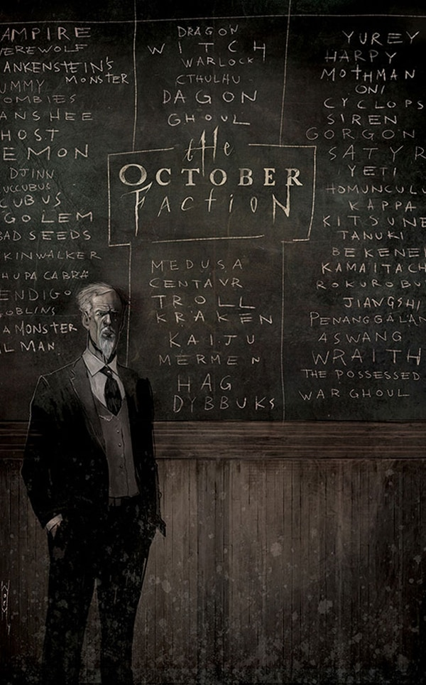 Steve Niles and Damien Worm's The October Faction Begins this Fall