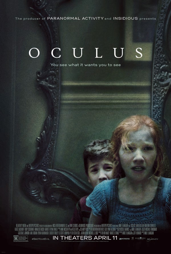 oculus poster - Exclusive: Mike Flanagan Reflects on the Horrors of Oculus