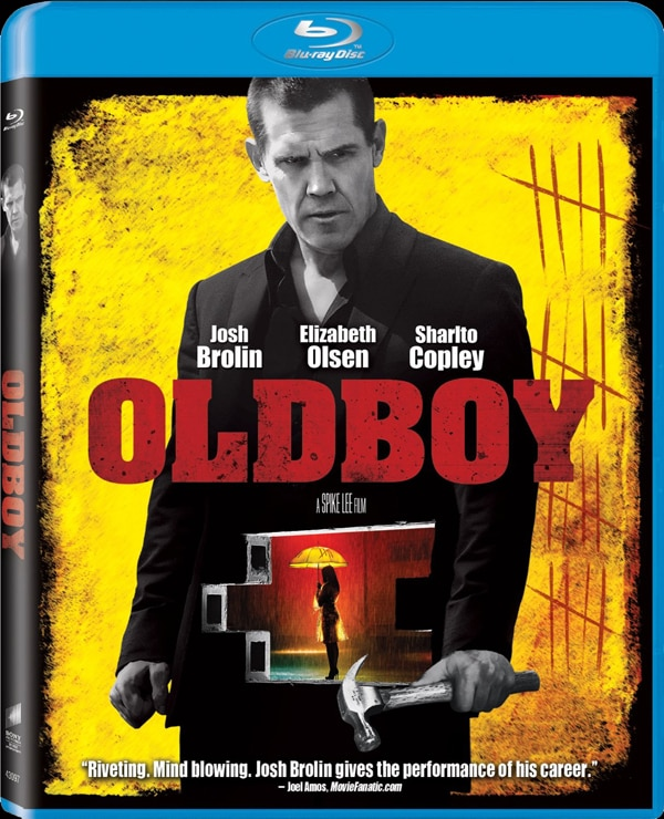 oldboy blu ray - CONTEST CLOSED! Win a Copy of Spike Lee's Oldboy on DVD