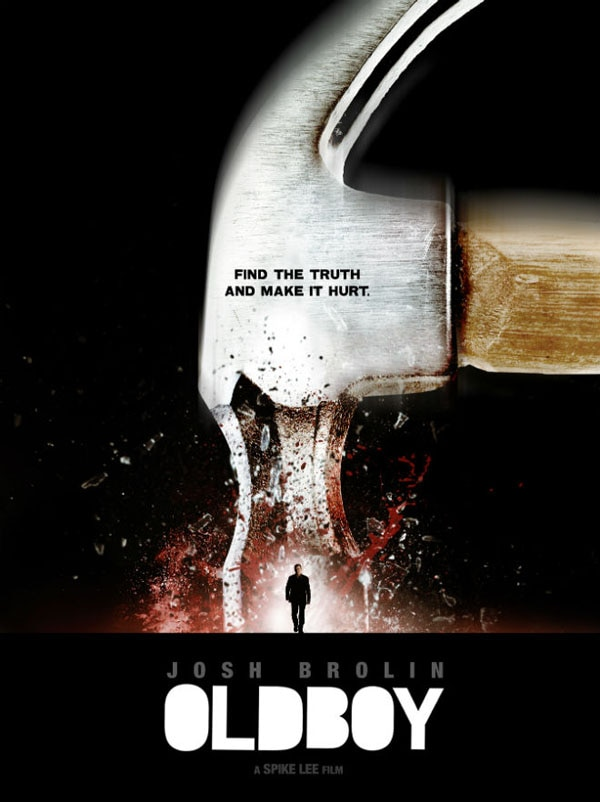 oldboy poster 2 - New Oldboy Poster Hammers it Home