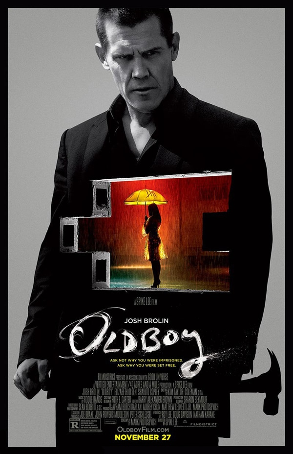 oldboy poster new - New Oldboy Poster Hammers it Home