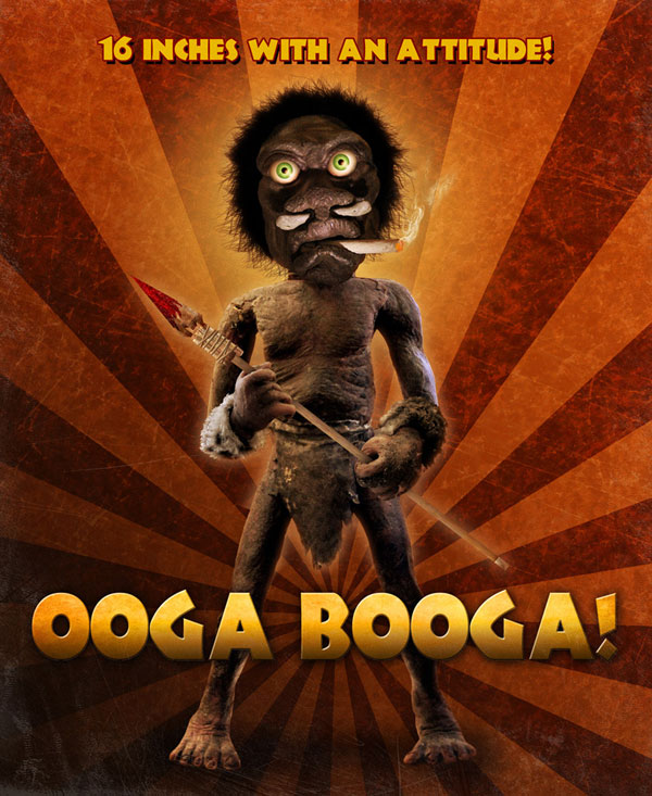 Check Out Some New Pics from Ooga Booga