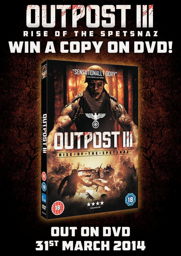 outpost contest - CONTEST CLOSED! UK Readers - Win Outpost: Rise of the Spetsnaz on DVD!