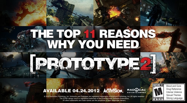 Reasons Why You Need Prototype 2 - Let Me Count the Ways