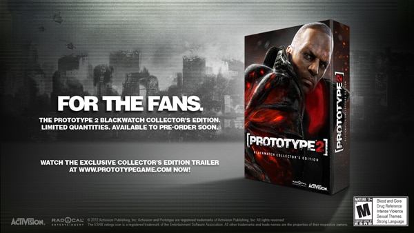 Stop a Viral Outbreak With Prototype 2 Blackwatch Collector's Edition
