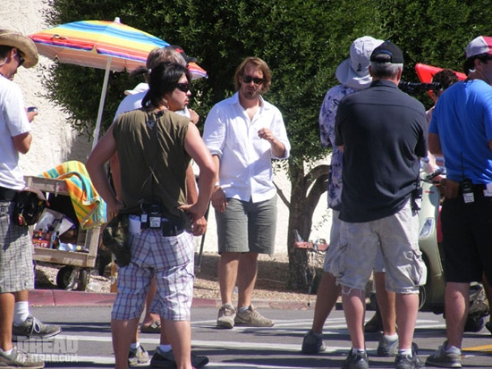 Piranha Behind-the-Scenes Images (click for larger image)