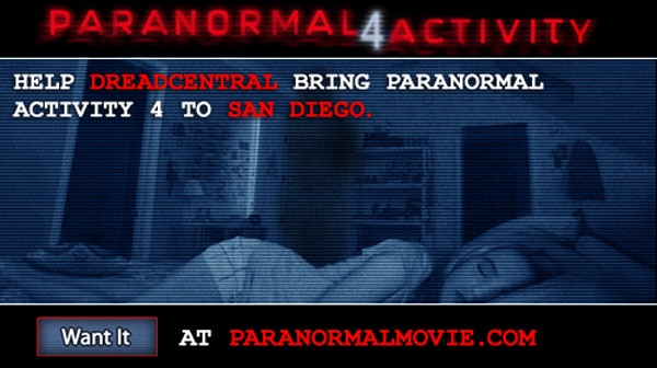 pa4sd - Bring Back Paranormal Activity 4 to its Hometown of San Diego