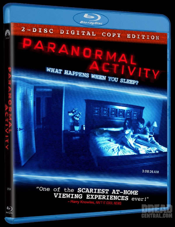 Official Word and Details: Paranormal Activity on DVD and Blu-ray