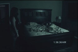 Paranormal Activity on Blu-ray and DVD (click for larger image)