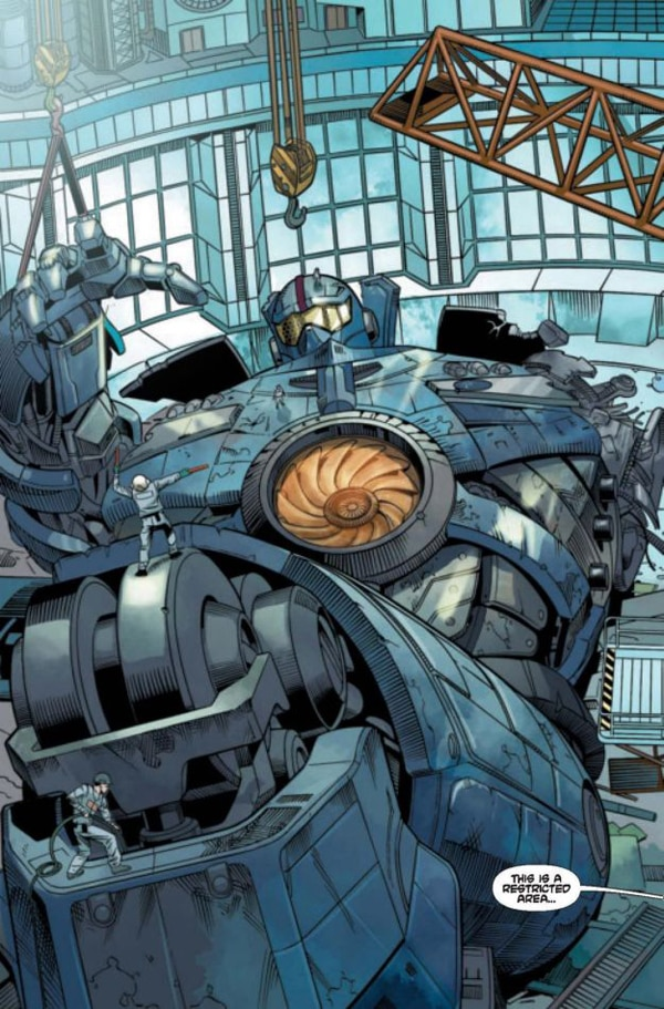 Exclusive: Pacific Rim Screenwriter Travis Beacham Talks the Graphic Novel Prequel Tales from Year Zero, the Film's Sequel, the Video Game, and More
