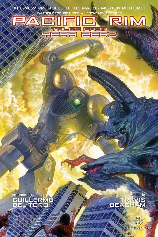 WonderCon 2013: Cover Art Unveiled for the Graphic Novel Prequel Pacific Rim: Tales from Year Zero