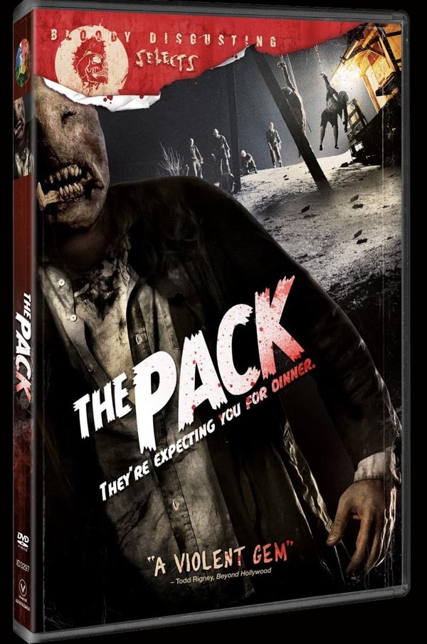 Win a Copy of The Pack and Outcast on DVD