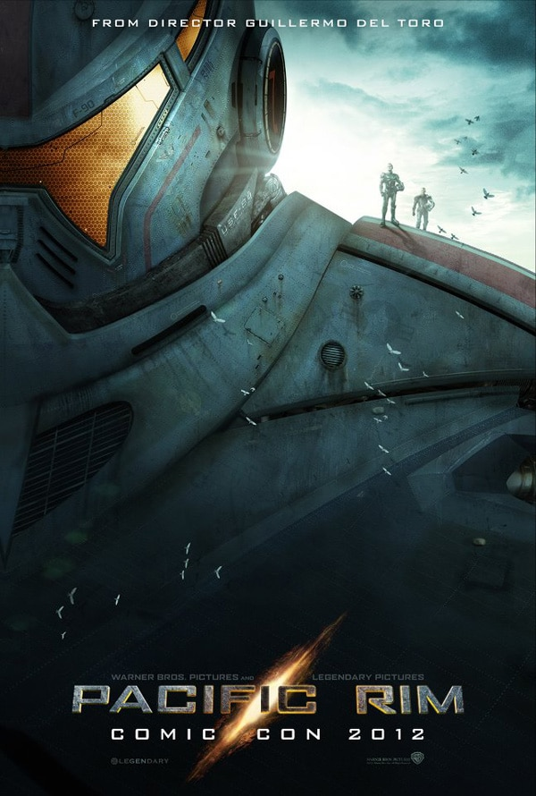 pacrimsdcc - San Diego Comic-Con 2012: A Look at Pacific Rim's SDCC Artwork