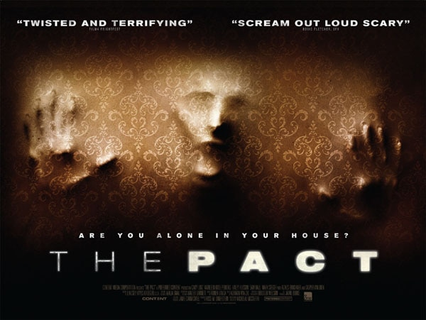 UK One-Sheet for The Pact Makes an Impression