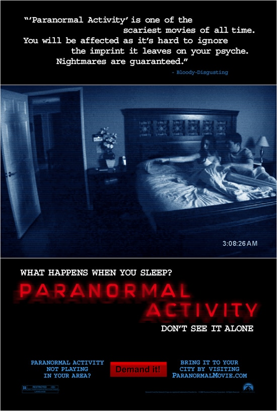 Paranormal Activity's New Poster