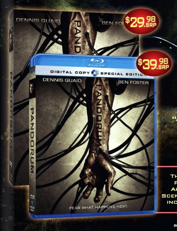 First Word on Pandorum Home Video Release