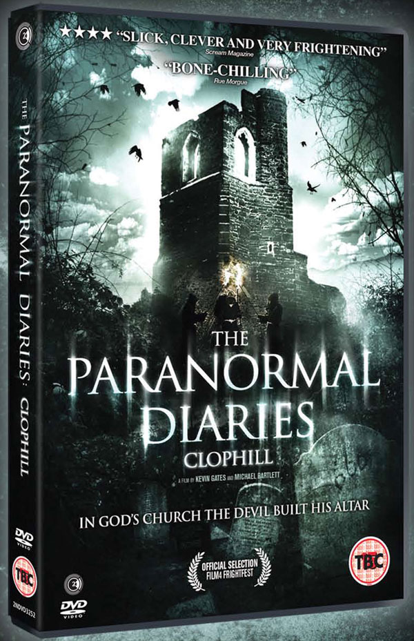 The Paranormal Diaries: Clophill Heading to UK DVD in October