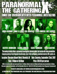 Paranormal X: The Gathering report! (click to see it bigger)