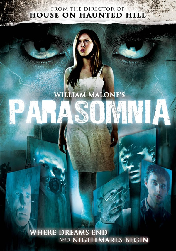 Lose Sleep Over the Parasomnia DVD Cover Art