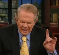 Religious Quack Pat Robertson Warns that Horror Movies Give Demons Permission to Destroy Your Life