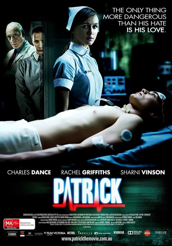 patrick one sheet - New Artwork and Stills Gallery Arrive Via Astral Projection for Patrick Remake