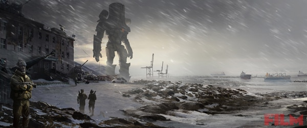 Incredible Concept Art for Pacific Rim
