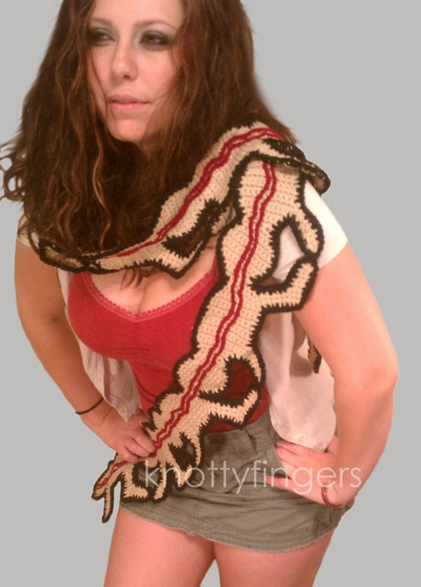 Now We've Seen It All ... The Human Centipede Scarf