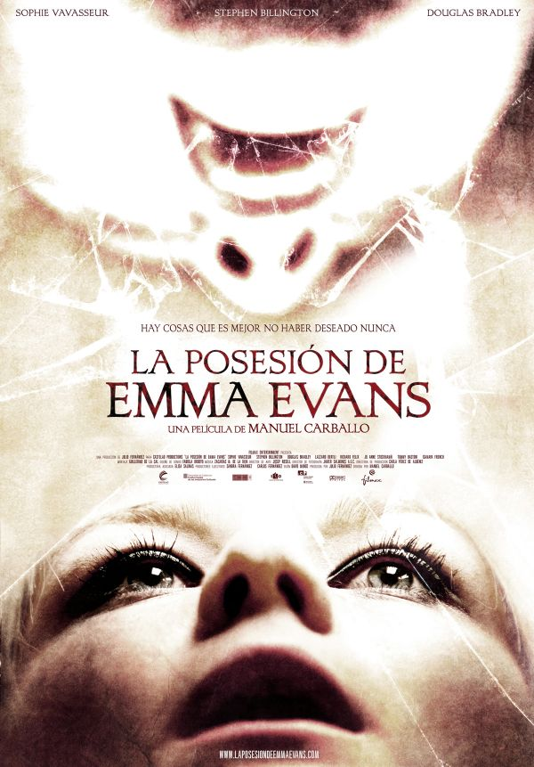 Spooky New Stills and One-Sheet  - The Possession of Emma Evans