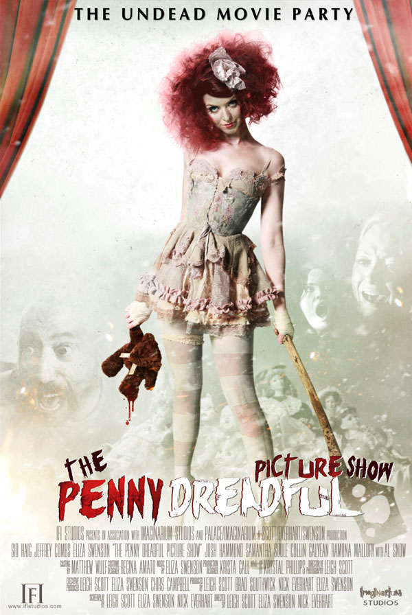 Trailer and Some Non-Moving Images from The Penny Dreadful Picture Show Anthology