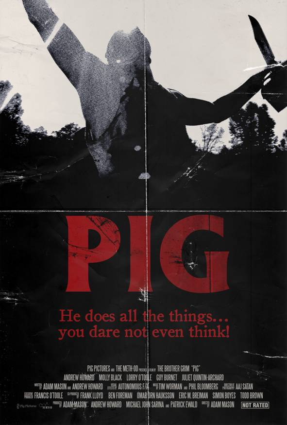 Adam Mason's Pig to World Premiere FREE Right Here on Dread Central