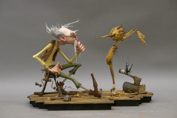 Guillermo del Toro and Gris Grimly's Pinocchio Dismantled for Now