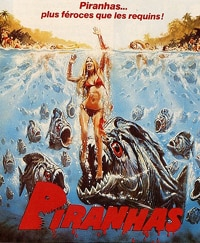 Splatterific Piranha 3D Behind-the-Scenes Stills