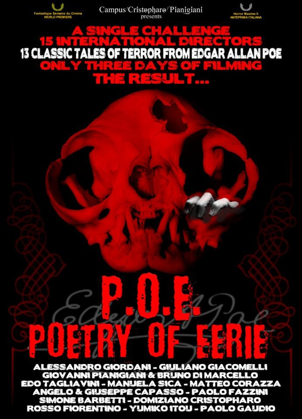 P.O.E. - Poetry of Eerie Lands US Distro with Elite Entertainment