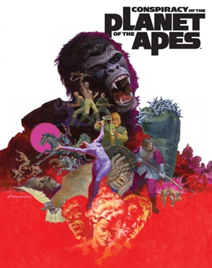 Conspiracy of the Planet of the Apes Illustrated Novel to Be Released this July