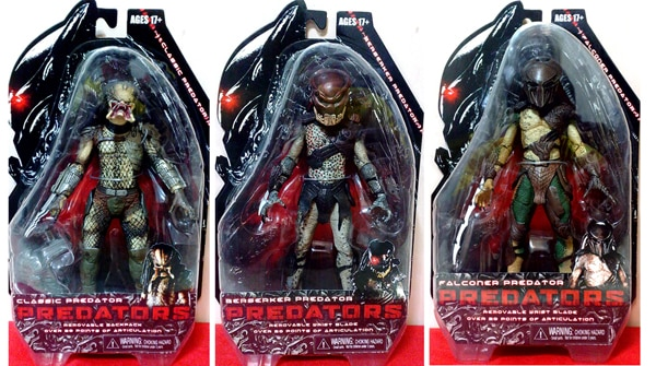 First Look: NECA's New Predators Figures! (click for larger image)