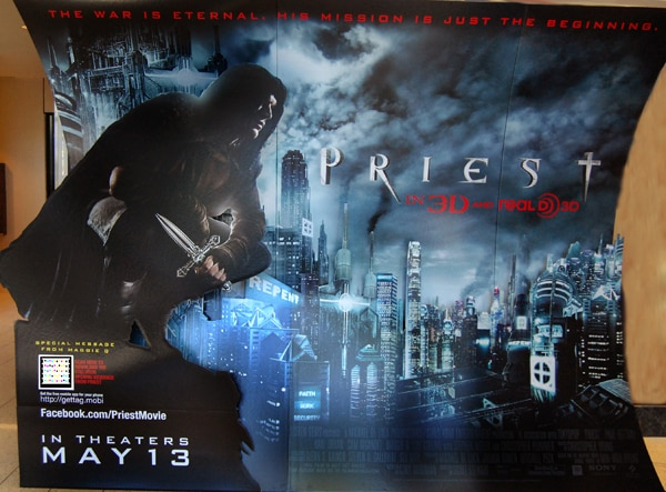 Get Your First Sneak Peek of Priest Right on Your Phone!