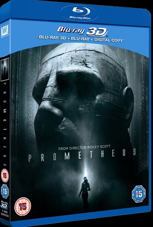 Prometheus Blu-ray and DVD Details Uncovered in the UK