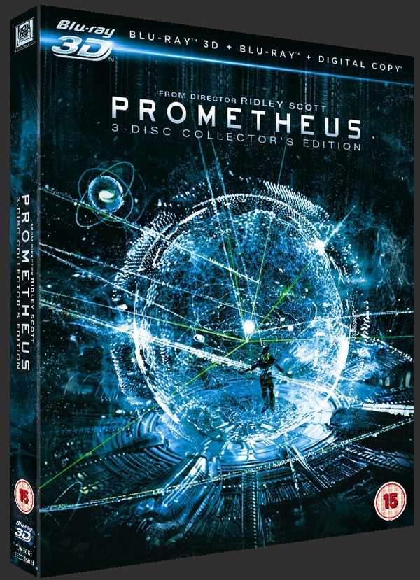 Prometheus UK 3D Collector's Edition Unveiled