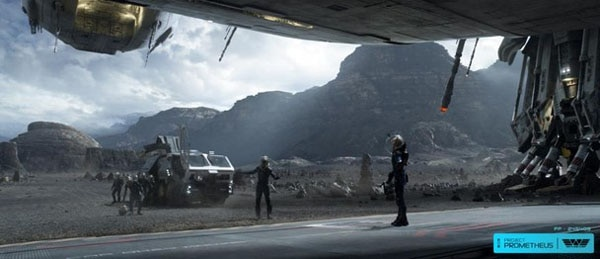 Spacey New Prometheus Viral Images