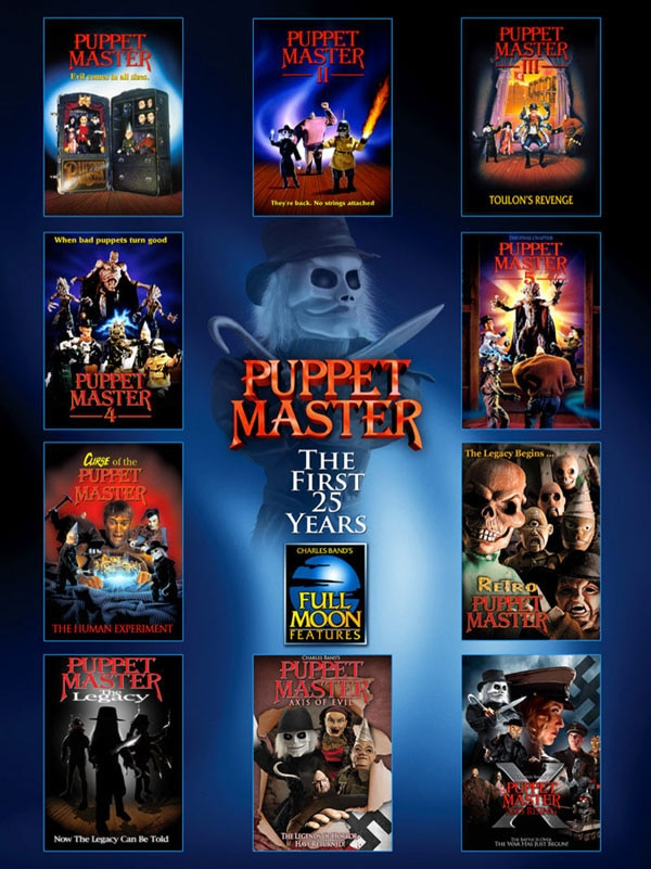 Get a Free Puppet Master Poster with Subscription to Full Moon Streaming