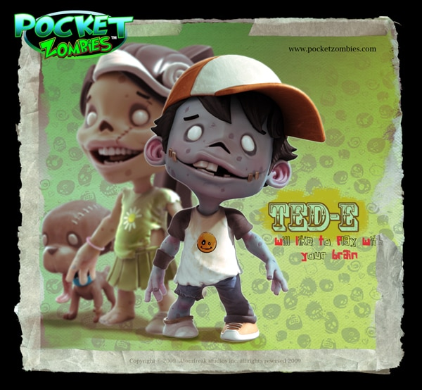 Find Dead Things in your Pockets! Introducing Pocket Zombies!