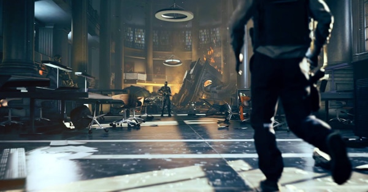 quantum break 3 - Quantum Break - First Xbox One Artwork and Screenshots