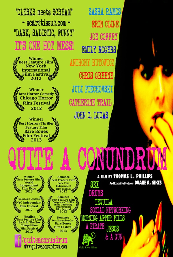 quite a conundrum poster - This Latest Horror Comedy Is Quite a Conundrum
