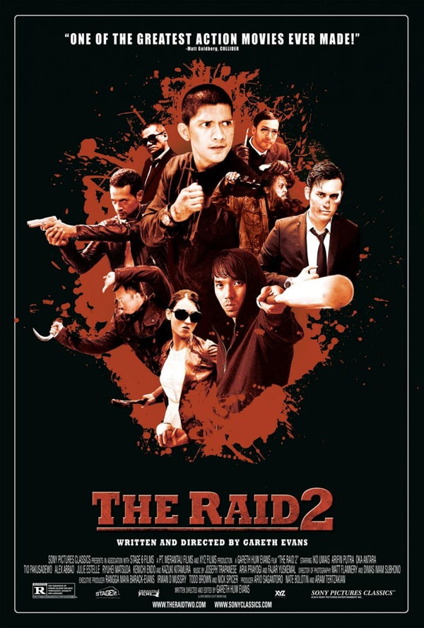 raid 2 berandal one sheet - The Raid 2: Berandal - Exclusive Interview with Director Gareth Evans and Star Iko Uwais