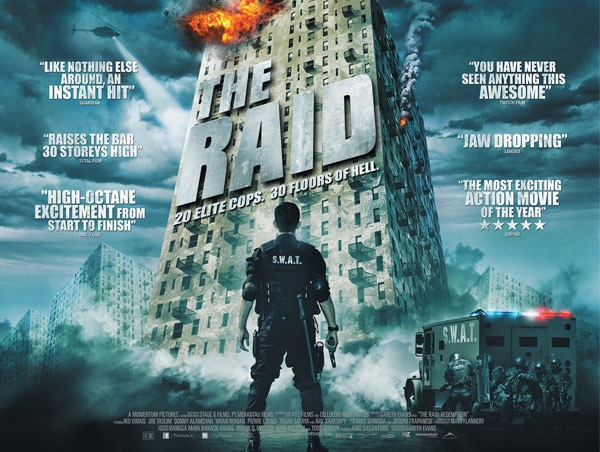 New UK Trailer and Poster Prepare For The Raid