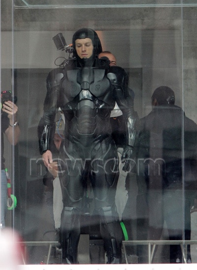 Lots of New Behind-the-Scenes Images from RoboCop; First Look at Michael Keaton